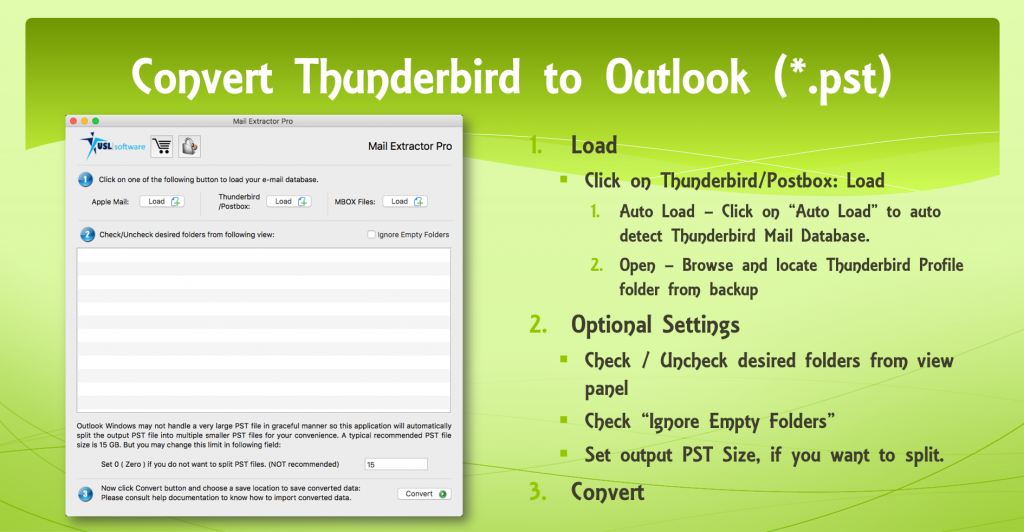 migrate from Mozilla Thunderbird to Microsoft Outlook