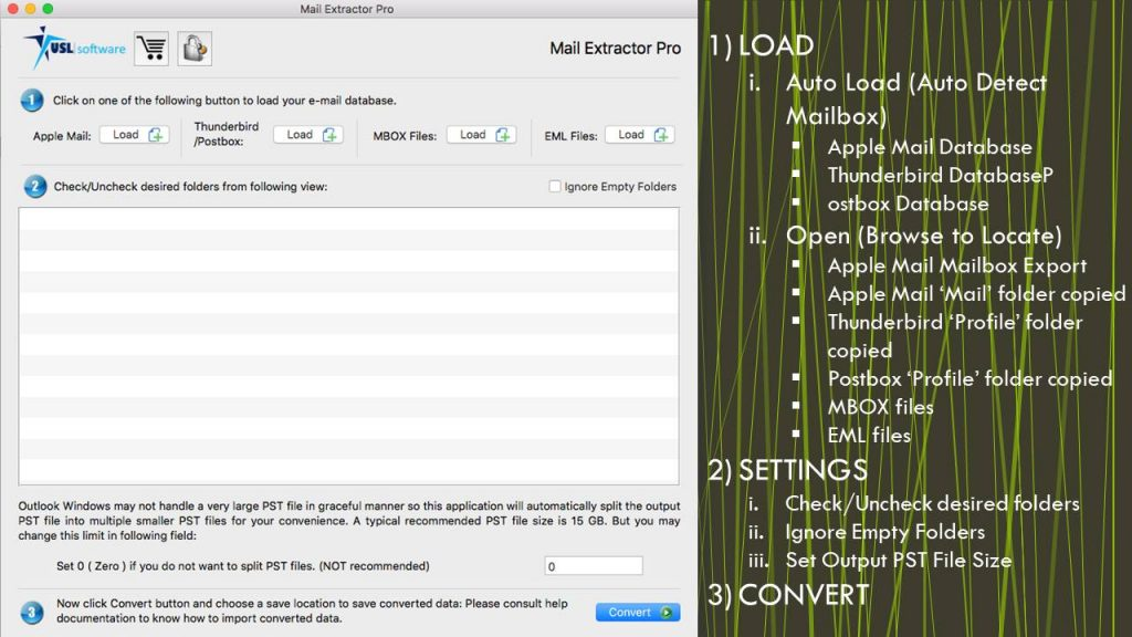 how to convert eml files to pst